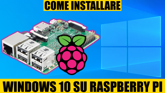 Questa settimana TLI (21 novembre 2020) - come installare windows 10 su raspberry pi spotlight