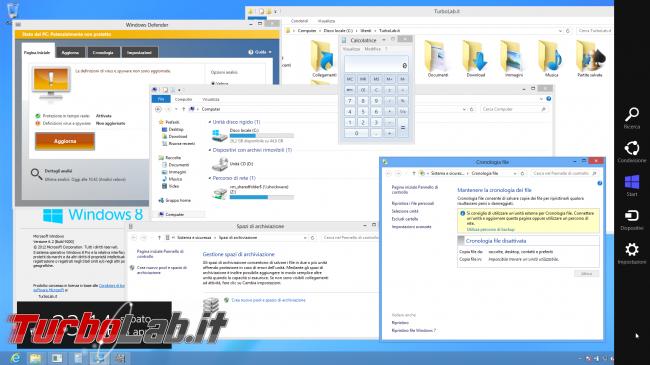 Questa settimana TLI (23 febbraio 2019) - windows 8 desktop