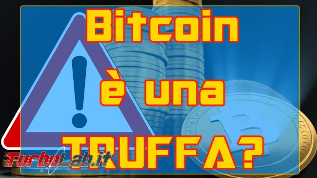 Questa settimana TLI (24 febbraio 2018) - bitcoin truffa spotlight