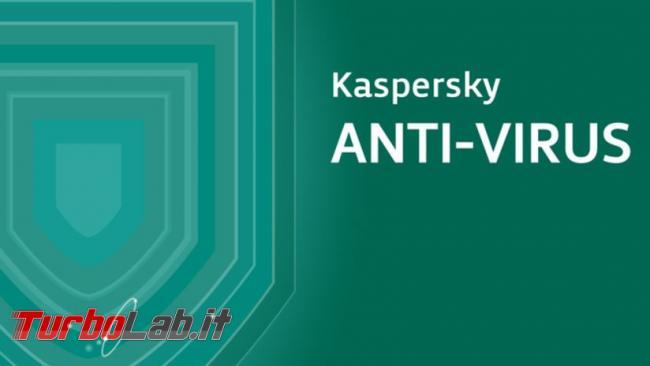 Questa settimana TLI (26 agosto 2017) - Impostazioni Kaspersky Free
