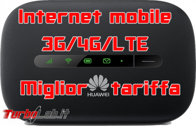Questa settimana TLI (29 luglio 2017) - miglior tariffa internet mobile 3g 34 lte spotlight