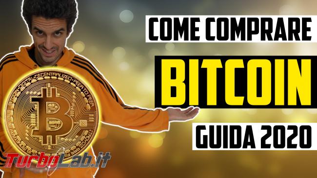 Questa settimana TLI (30 novembre 2019) - come comprare bitcoin criptovalute spotlight