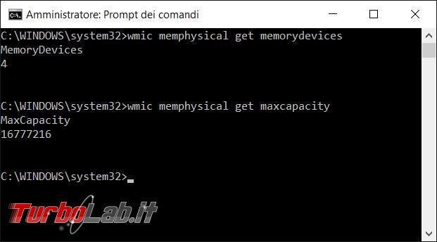 Raccogliere informazioni computer direttamente prompt comandi wmic