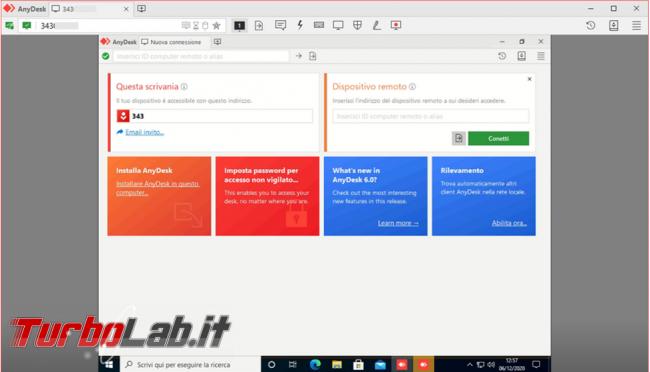 Raggiungi desktop computer ovunque ti trovi AnyDesk