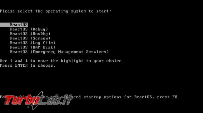 ReactOS 0.4.0 prova - clone open source Windows cresce ancora, molto lentamente