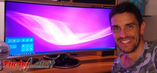 """Recensione Asus MX34VQ: mi sono innamorato questo monitor / display 34 pollici ultrawide """"quasi-4K"""" (video) - IMG_20180723_231658"""