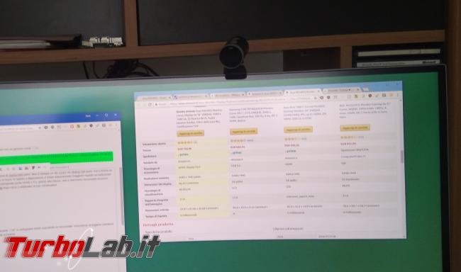"""Recensione Asus MX34VQ: mi sono innamorato questo monitor / display 34 pollici ultrawide """"quasi-4K"""" (video) - IMG_20180801_101823"""