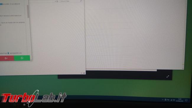 """Recensione Asus MX34VQ: mi sono innamorato questo monitor / display 34 pollici ultrawide """"quasi-4K"""" (video) - IMG_20180801_134543"""