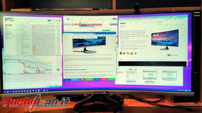 """Recensione Asus MX34VQ: mi sono innamorato questo monitor / display 34 pollici ultrawide """"quasi-4K"""" (video) - IMG_20180801_153705"""