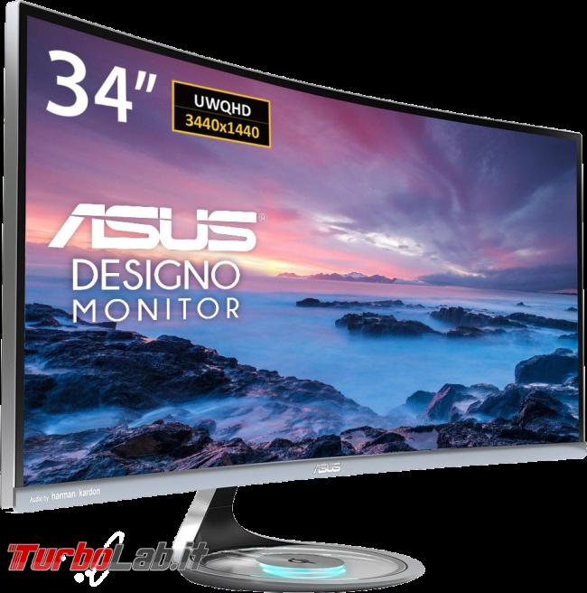 Recensione Asus MX34VQ: mi sono innamorato questo monitor ultrawide (video) - Asus MX34VQ schermo curvo