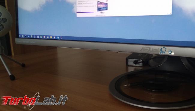 Recensione Asus MX34VQ: mi sono innamorato questo monitor ultrawide (video) - IMG_20180801_102446