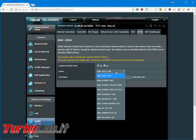 Recensione modem/router Asus DSL-AC68VG: massima potenza fascia alta (video) - Mobile_zShot_1533211973
