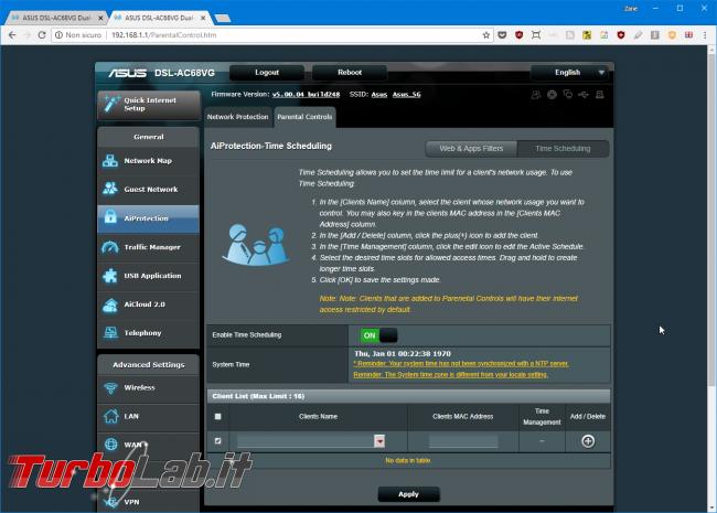 Recensione modem/router Asus DSL-AC68VG: massima potenza fascia alta (video) - Mobile_zShot_1533212571