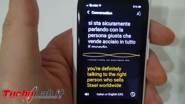 Recensione prova: Langogo è hotspot traduttore universale parla tutte lingue mondo - IMG_20190714_182247