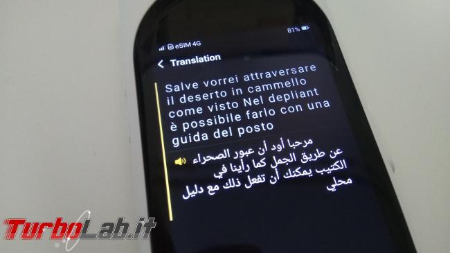 Recensione prova: Langogo è hotspot traduttore universale parla tutte lingue mondo - IMG_20190804_174259