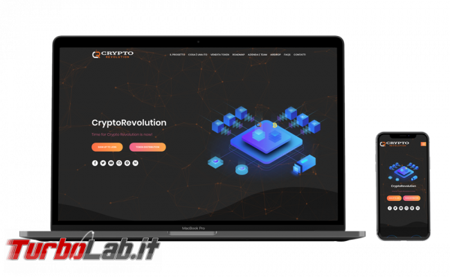 Recensione / review CryptoRevolutiontime: piattaforma integrata formazione, trading, cloud mining, stake pooling gestione MasterNode (video)