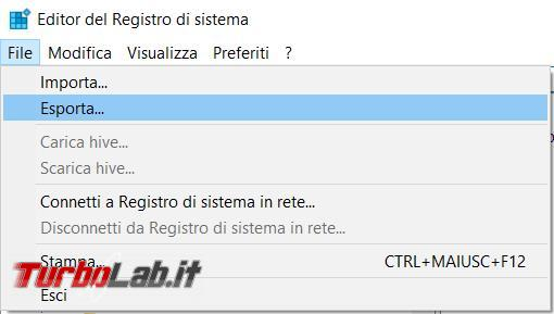 registro configurazione Windows, come modificare, cancellare, inserire chiavi registro