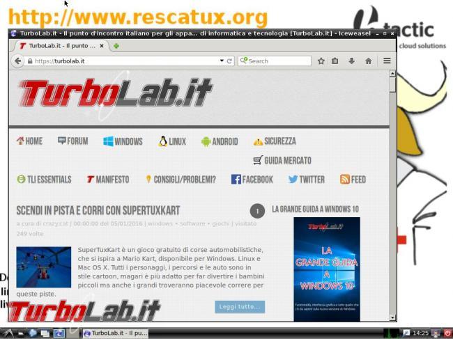 Rescatux risolve molti problemi Linux Windows