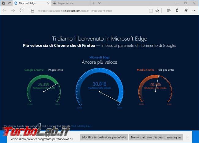 Resettare impostazioni Microsoft Edge reinstallarlo quando va crash
