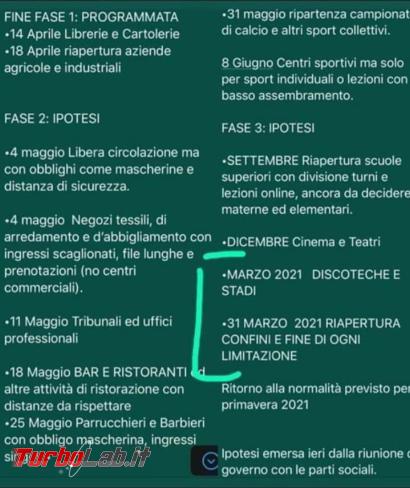 Riaperture post COVID-19: circola falso accordo quadro Governo-Regioni - FrShot_1586933841