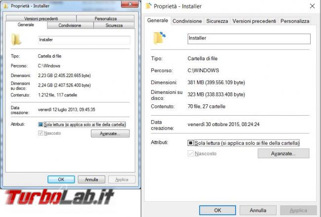 Ripulisci cartella Windows Installer file inutili PatchCleaner