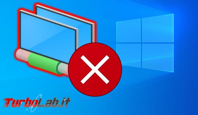 [risolto] Aiuto! Decine connessioni rete TAP-Windows Adapter V9: come rimuoverle cosa fare impedire si creino nuovo? - connessione rete errore spotlight