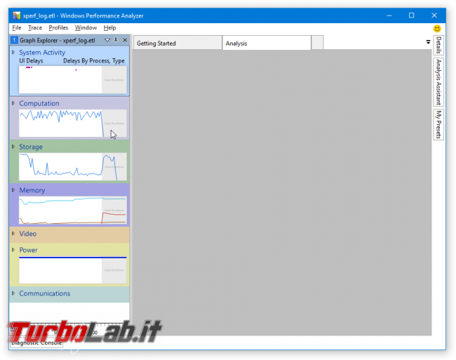 [risolto] Aiuto! problema processo System: alto uso CPU (50-100%) PC Windows lentissimo: come risolvere? => Guida Windows Performance Toolkit - windows performance analyzer 1