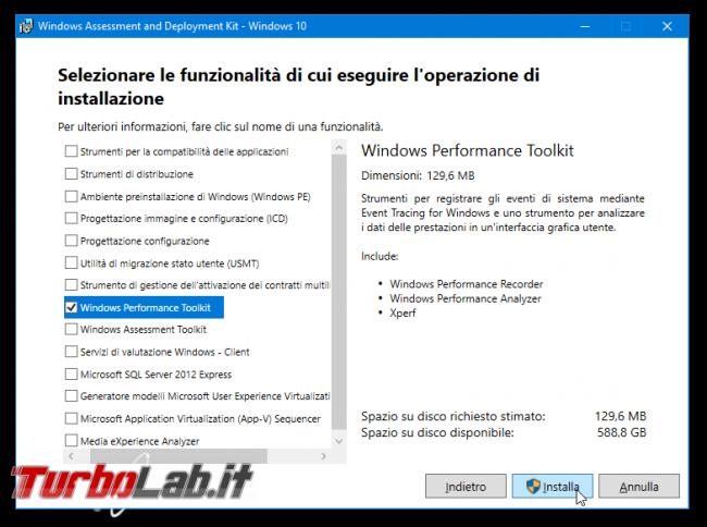 [risolto] Aiuto! problema processo System: alto uso CPU (50-100%) PC Windows lentissimo: come risolvere? Guida Windows Performance Toolkit - Windows Performance Toolkit