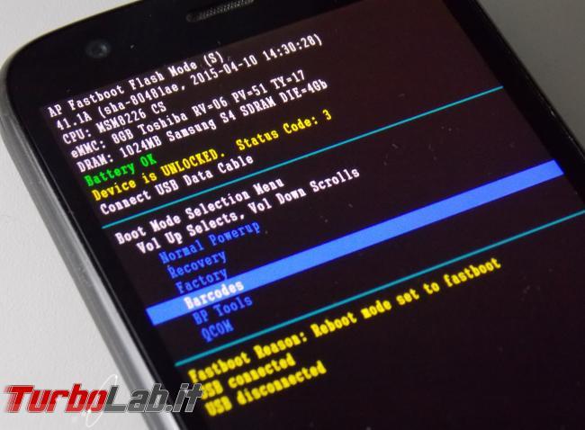 [risolto] Aiuto! smartphone Android non si accende più / si riavvia continuamente!! Come risolvere soft-brick/bootloop? (Motorola, HTC, LG, Samsung, OnePlus, Huawei, Honor, Lenovo, Xiaomi)