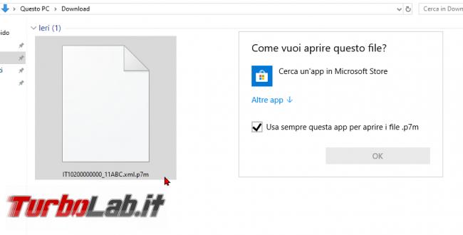[risolto] Come aprire file p7m (leggere .xml.p7m fattura elettronica, guida) - zShotVM_1554357938
