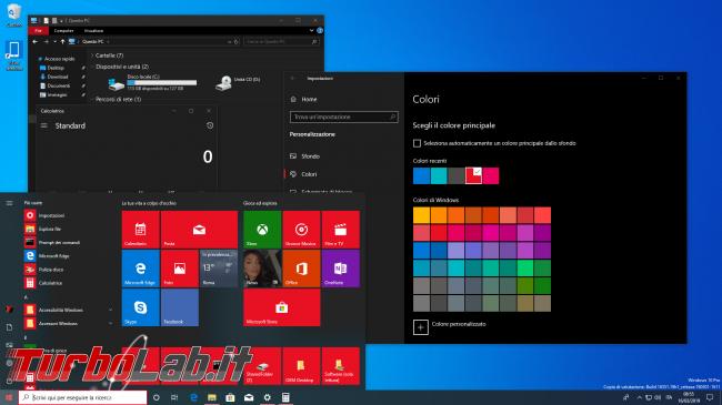 [risolto] Come attivare tema scuro chiaro Windows 10 (guida rapida) - windows 10 scuro rosso