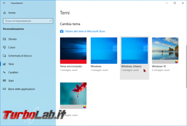[risolto] Come attivare tema scuro chiaro Windows 10 (guida rapida) - zShotVM_1552721659