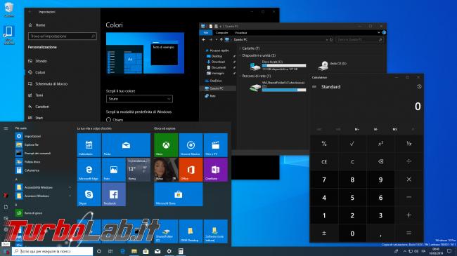 [risolto] Come attivare tema scuro chiaro Windows 10 (guida rapida) - zShotVM_1552722508