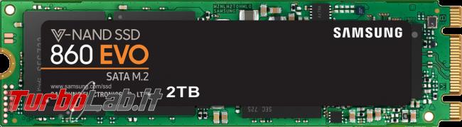 [risolto] Come scoprire se PC / notebook è compatibile SSD NVMe M.2 PCIe (Samsung EVO ecc.) - samsung evo 860 m.2 sata