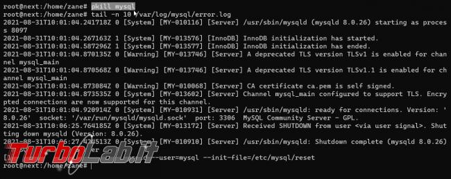 [risolto] MySQL, password root dimenticata: come reimpostare/resettare password root MySQL?