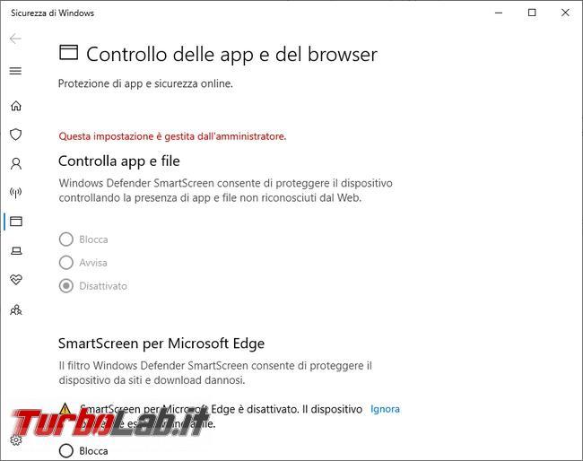 """[Risolto] Perché compare Windows 10 messaggio """"Alcune queste impostazioni sono nascoste gestite organizzazione"""""""