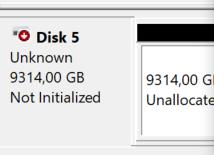 [risolto] Problema hard disk / SSD non riconosciuto rilevato: cosa fare quando Windows non vede nuovo disco (guida) - disco non inizializzato