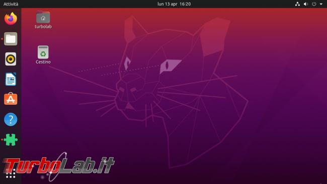 [risolto] Problema Ubuntu 20.04: desktop finestre bloccate (freeze). Cosa fare, come risolvere