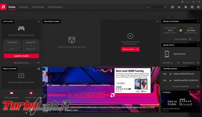 [risolto] RadeonSoftware.exe: alto consumo CPU (30%), ventole massimo PC rumoroso. Come risolvere?