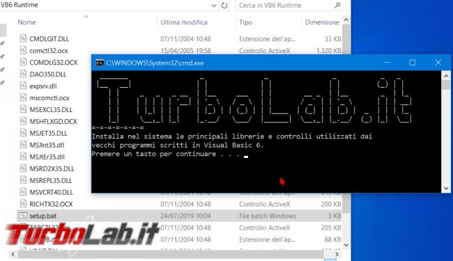 """Risolvere errore """" componente comctl32.ocx dipendenze non è correttamente registrato"""" Windows 10 - Download Pacchetto DLL OCX mancanti - Mobile_zShot_1563958118"""