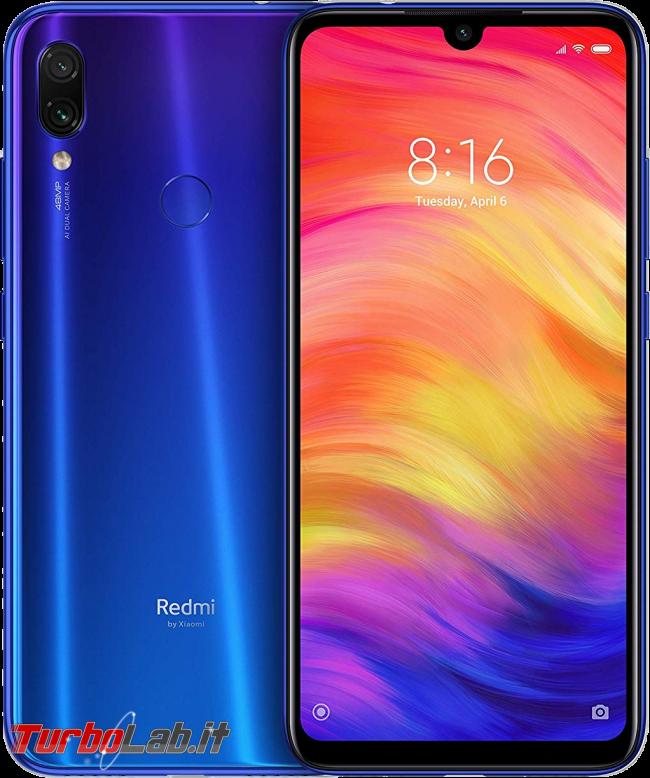 Risparmiare acquistando smartphone Android generazione precedente: guida migliori - smartphone xiaomi redmi note 7