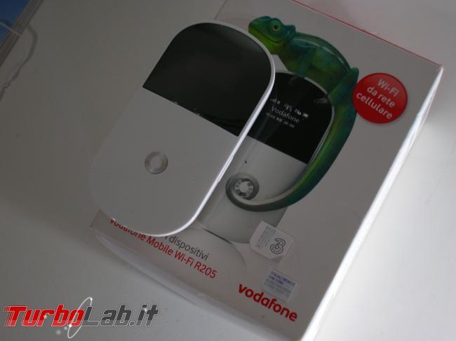 Router 3G Vodafone Mobile Wi-Fi R205: come utilizzare SIM qualsiasi operatore (TIM, Wind, 3 Tre, Tiscali, Fastweb)