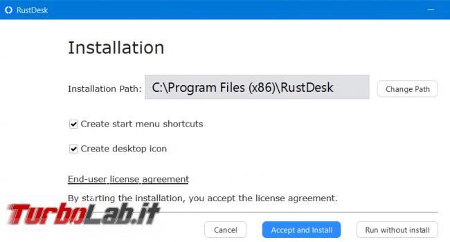 Rustdesk l'alternativa opensource Teamviewer Anydesk