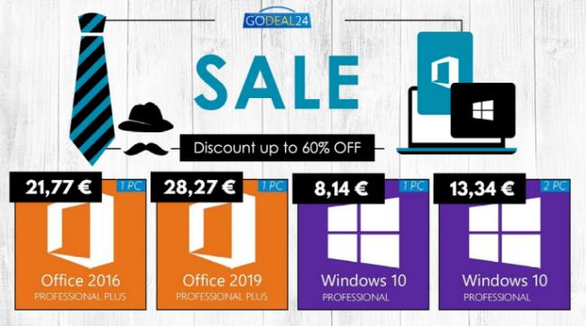 Saldi Godeal24: Windows 10 soli 8,14 € risparmi fino 60% - FrShot_1624001146_