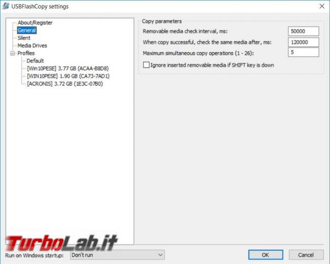 Salva automaticamente contenuto pendrive USBFlashCopy