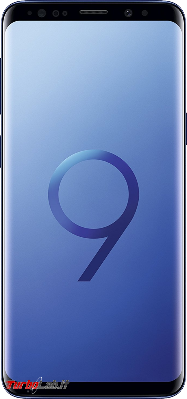 Samsung Galaxy S9 è sconto -39% Amazon - Samsung Galaxy S9