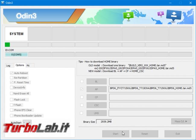 Samsung Odin: download diretto ufficiale, ultima versione
