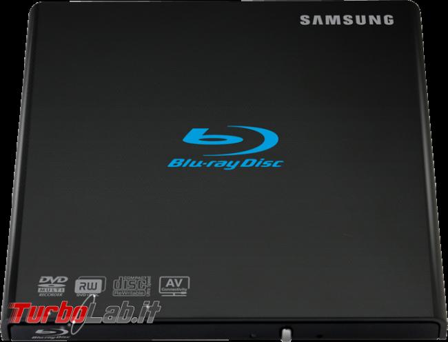 Samsung SE-506BB è drive USB leggere scrivere CD, DVD Blu-ray mobilità