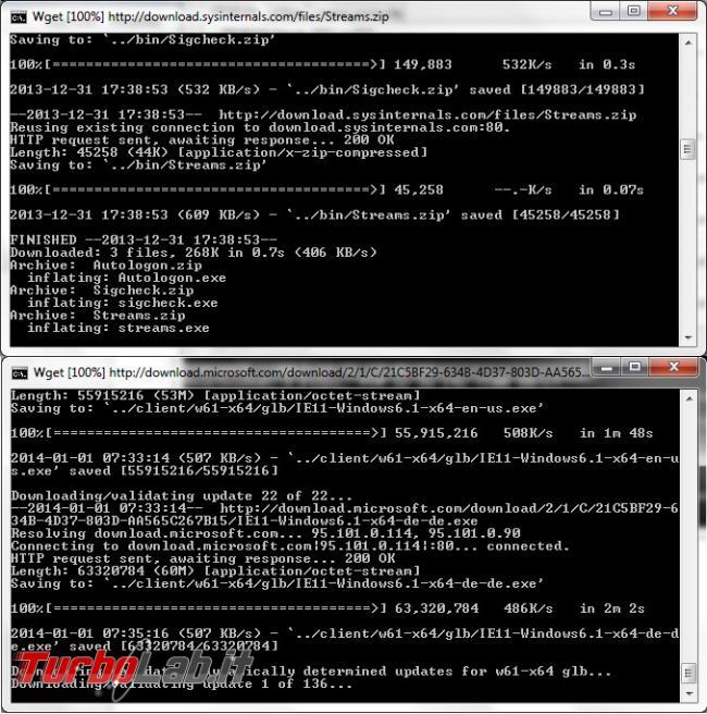 Scaricare aggiornamenti Windows riutilizzarli più computer offline: guida WSUS Offline Update
