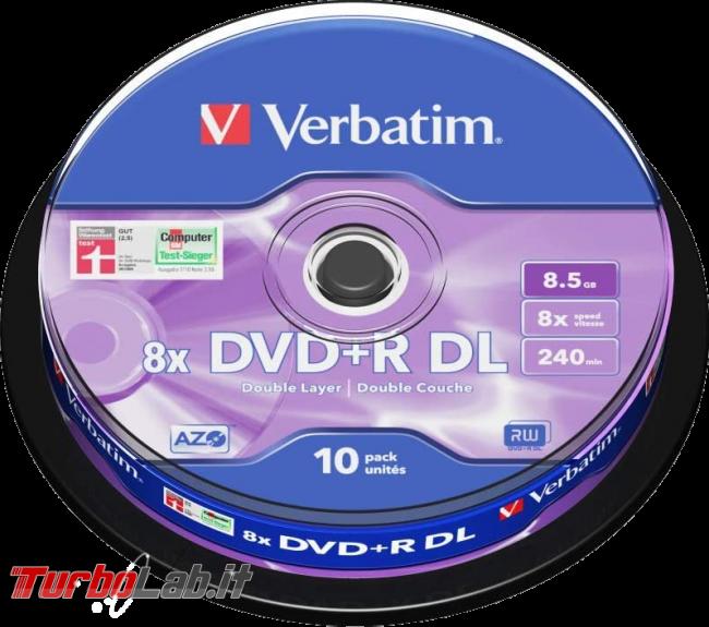 Scaricare Windows 11 DVD/ISO italiano: download diretto ufficiale (versione RTM finale) (video) - Verbatim DVD+R DL Double Layer